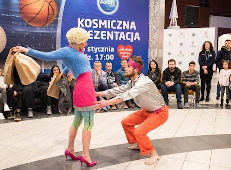 Spektakl teatru tańca