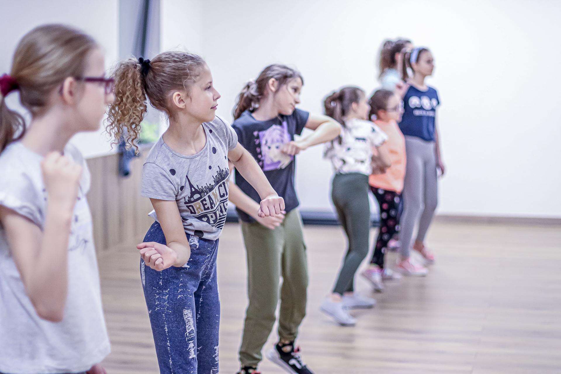 Zajęcia dla dzieci w Rybniku - street dance, taniec kreatywny, taniec 3-4 latka i gordonki