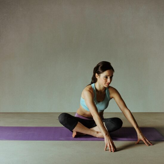 Anna Kasprzak-Chowaniec promuje zajęcia Pilates CORE.
